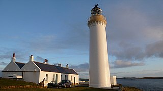 Cantick Head Lighthouse lighthouse in Orkney Islands, Scotland
