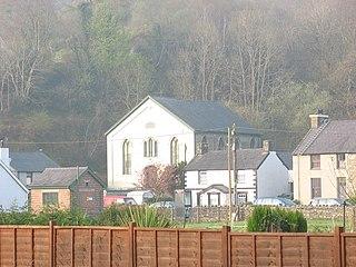 Cwm-y-glo Human settlement in Wales