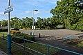 Car park, Pen-y-ffordd railway station (geograph 4032591).jpg