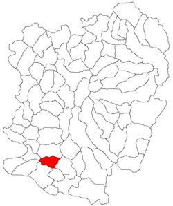 Vị trí của Carbunari