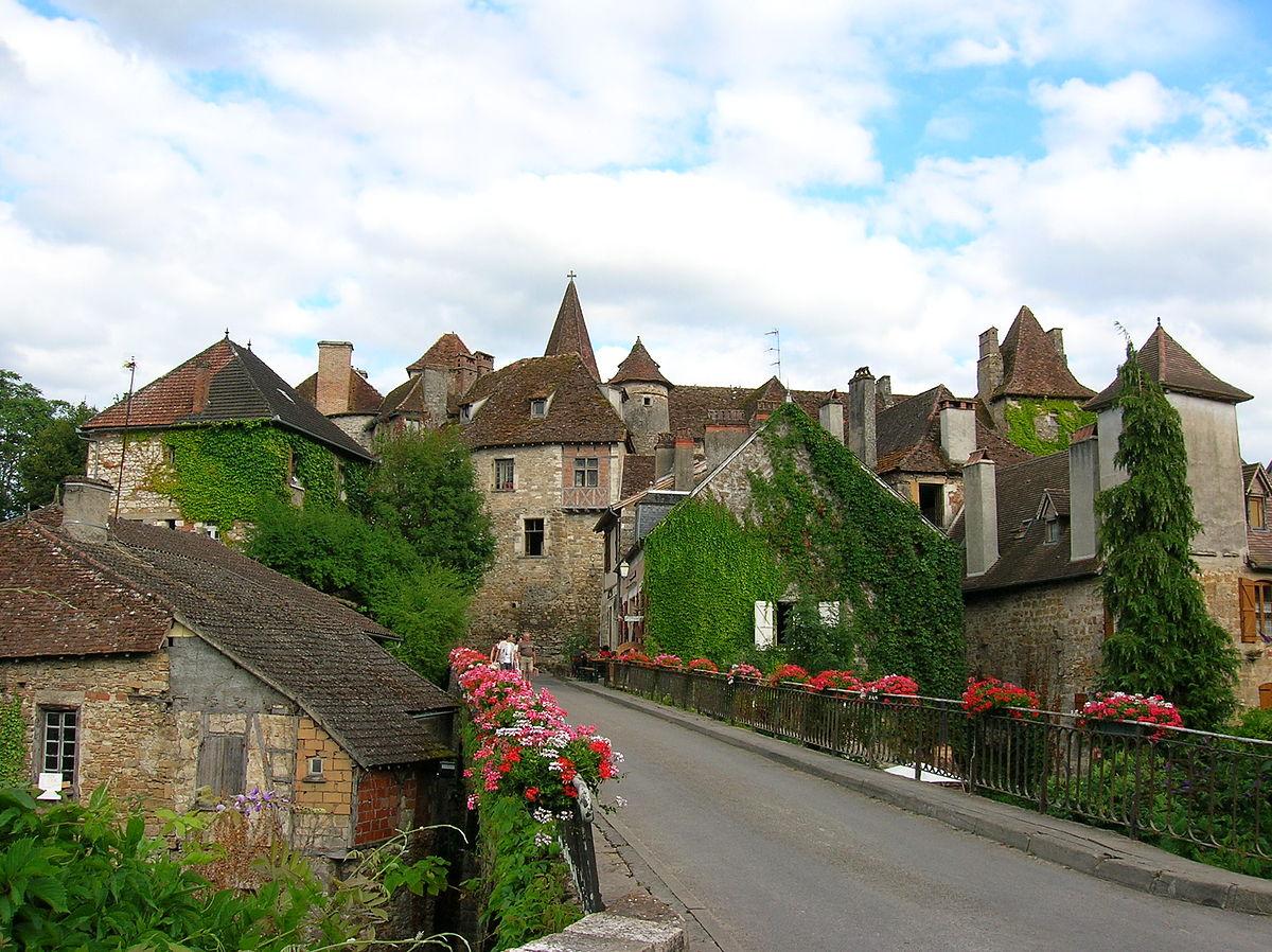 Carennac wikip dia for Beau village autour de toulouse