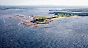 Caribou, Nova Scotia - Caribou Island Lighthouse