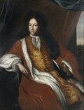 Carl Piper. Porträtt av David Kock, efter originalmålning av David Klöcker Ehrenstrahl.