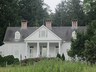 Carl Sandburg Home National Historic Site - Carl Sandburg's last house