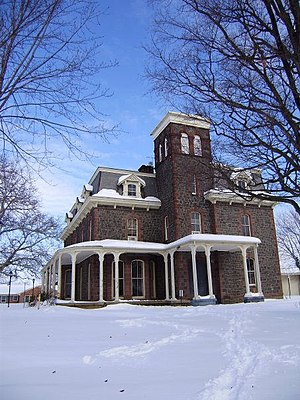 Leesburg, Virginia - Carlheim, also known as the Paxton mansion.
