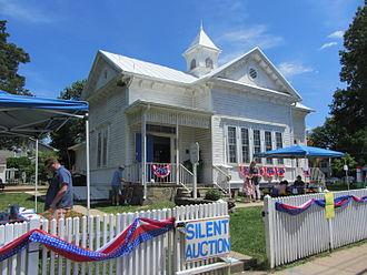 Glencarlyn, Virginia - Carlin Hall on Glencarlyn Day, 125th anniversary, June 2, 2012