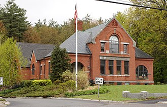 Carlisle, Massachusetts - Image: Carlisle MA Gleason Library