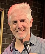 Carlos Alazraqui at Flappers in Burbank 20190706 (cropped).jpg