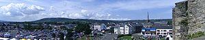 Carrickfergus Castle - Image: Carrickfergus panorama