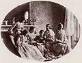 Carrol, Lewis - Sechs von Lewis Carrolls Schwestern und sein Bruder Edwin (Zeno Fotografie).jpg