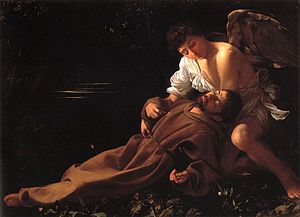 Enthusiasm - Francis of Assisi in Ecstasy by Caravaggio, 1594