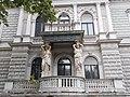 Caryatids, Weiss Manfréd Villa, Terézváros, 2015 Budapest.jpg