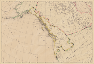 Cascadia (independence movement) - Map of the bioregion of Cascadia