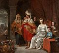 Casteleyn, Casper — Casper Casteleyn Croesus Showing Solon His Riches — c. 1655.jpg