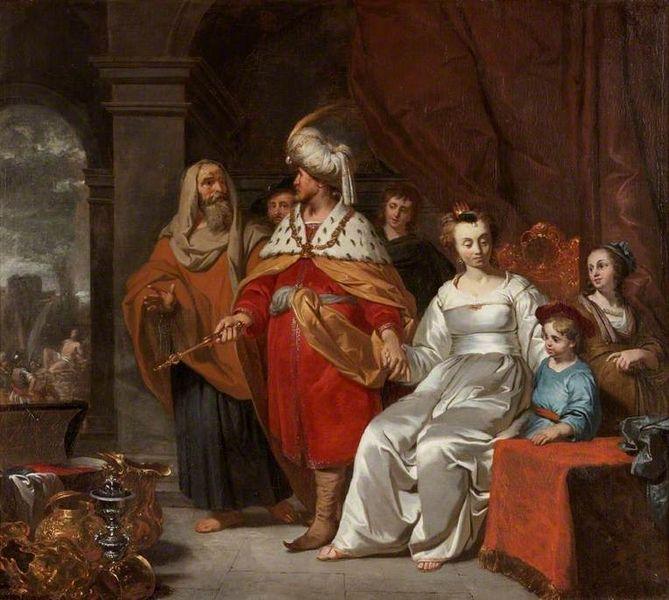 File:Casteleyn, Casper — Casper Casteleyn Croesus Showing Solon His Riches — c. 1655.jpg