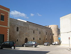 The medieval castle of Acquarica
