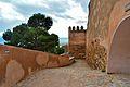 Castillo de gibralfaro una de las murallas.JPG