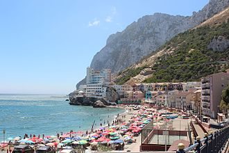 Catalan Bay - View of Catalan Bay looking South