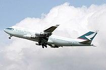 Cathay Boeing 747-400 B-HKF.arp.jpg