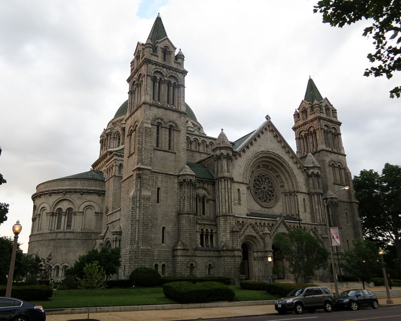 Cathedral Basilica of Saint Louis (St. Louis, MO) - exterior, quarter view.jpg
