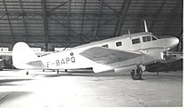 Caudron C.449 Goeland at Pontoise 1957.jpg