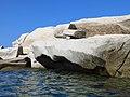 Cave di Età Romana di Capo Testa viste dall'acqua 06.jpg