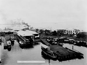 Naval Station Sangley Point - Cavite Navy Yard in 1899.
