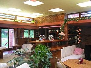 Cedar Rock State Park - The house's living room