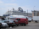 Celebrity Infinity at Liverpool 2013-06-09 - view from Pier Head (1).JPG