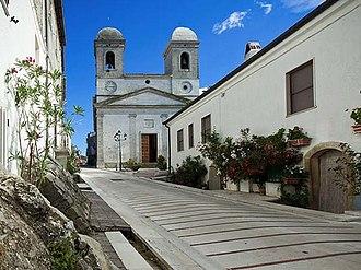 Celle di San Vito - The parish church