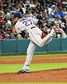 Cesar Ramos pitching in Houston in June 2014.jpg