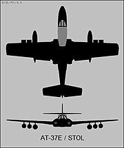 Cessna AT-37E STOL