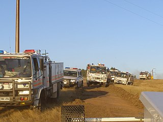 Country Fire Service appliances