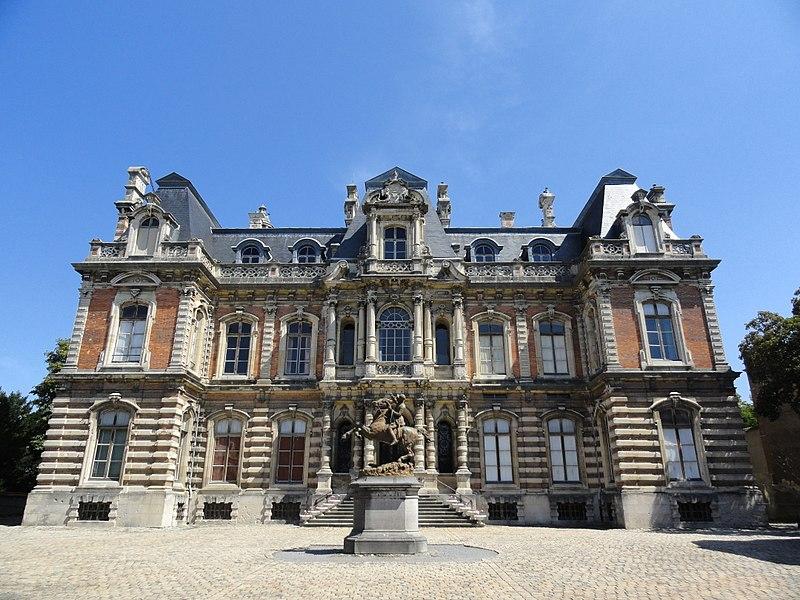 Façade Sud du Château Perrier à Épernay