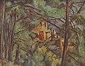 Château Noir derrière les arbres, par Paul Cézanne, Yorck.jpg