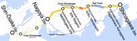 Chūō Shinkansen map.png