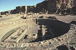 Chaco Canyon Pueblo Bonito great kiva NPS.jpg