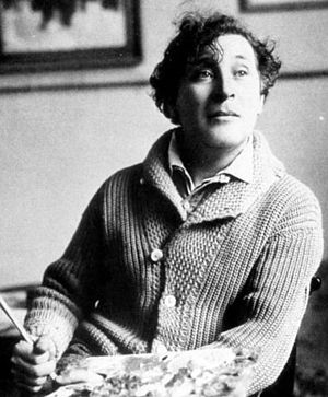 Erasmus Prize - Image: Chagall France 1921