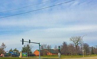 Channahon, Illinois - Channahon, near a community center