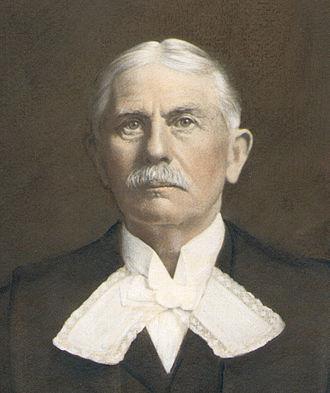 Charles John Johnston - In Speaker's robes