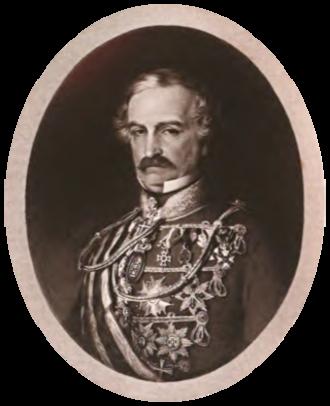 Charles von Hügel - Charles von Hügel from a painting by Joseph Neugebauer. Florence, 1851.