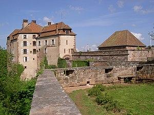 Château de La Petite-Pierre - Image: Chateau de La Petite Pierre