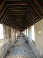 Chateau de Vincennes - Chemise du donjon - chemin de ronde 06.JPG