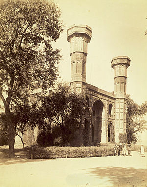 Chauburji - Chauburji in the 1880s