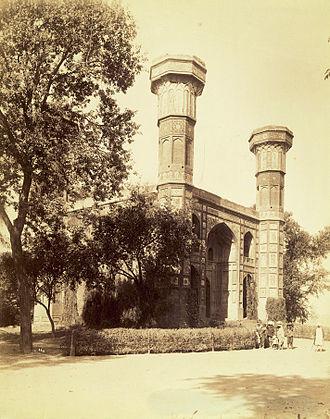 Chauburji - Chauburji in the 1880s