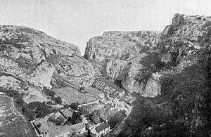 Cheddar, Somerset - Cheddar Gorge c. 1907