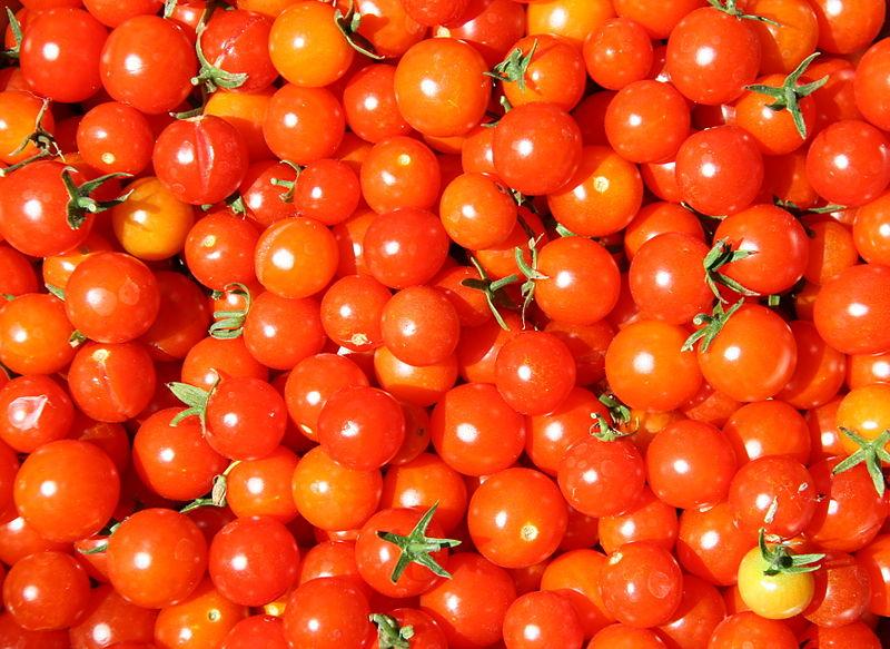 File:Cherry tomatoes.jpg