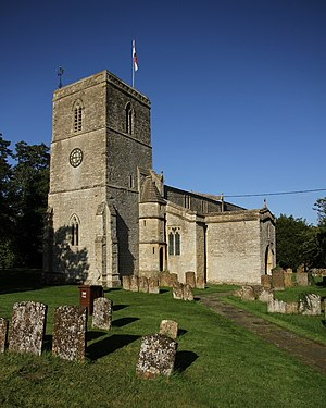 Chesterton, Oxfordshire - Image: Chesterton St Mary southwest
