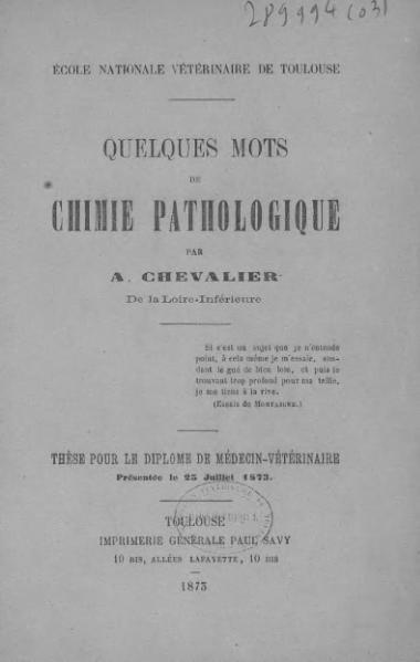 File:Chevallier - Quelques mots de chimie pathologique.djvu