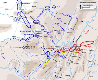 Chickamauga Campaign Wikipedia